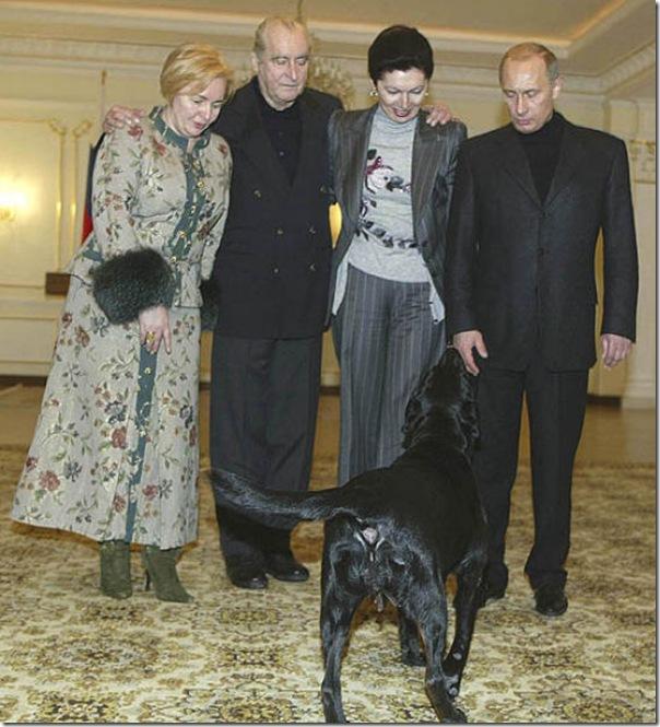 Vladimir Putin e o seu amor pelos animais (7)