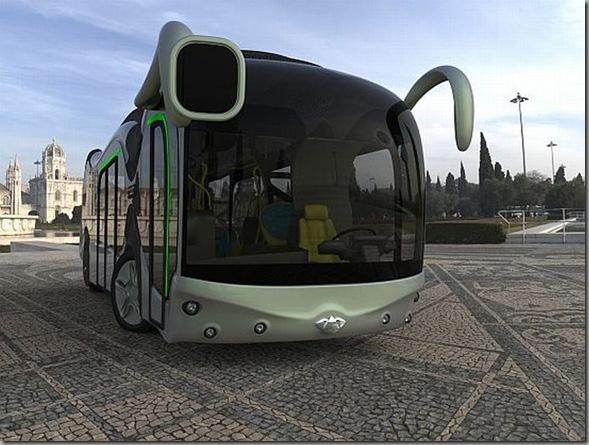 Ônibus futurista