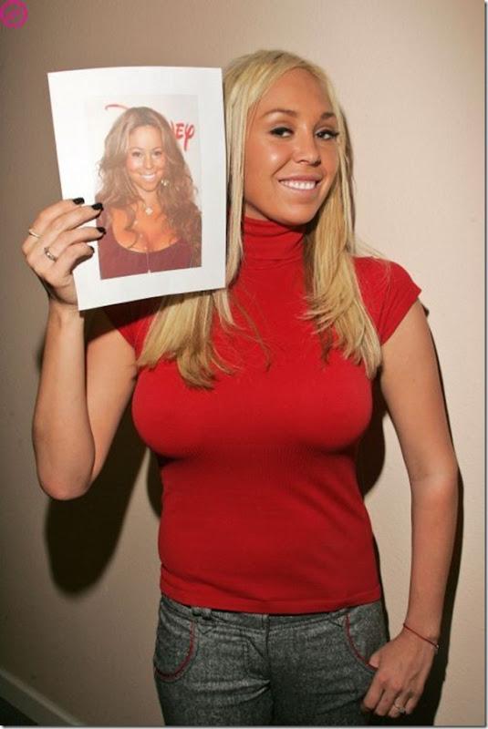 Sósia de Mariah Carey