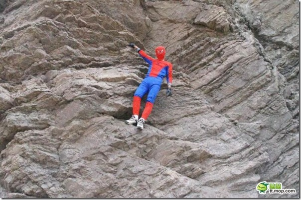 Homem aranha chinês (2)