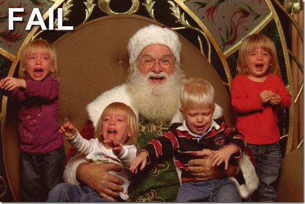 Epic Santa FAIL
