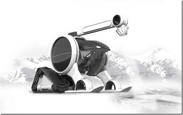 Ilustrações de transportes futuristas (5)