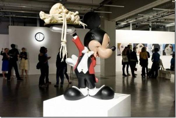 Galeria de arte de quadrinhos