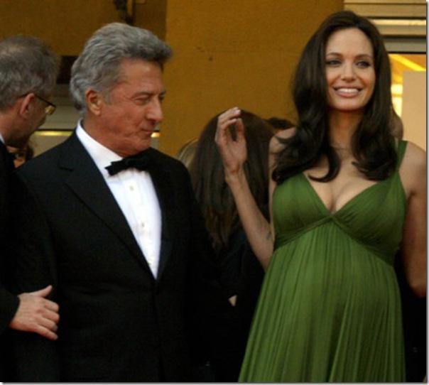 Dustin Hoffman e Angelina Jolie
