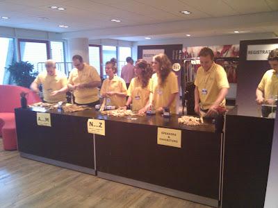 Het leger vrijwilligers gaat van start met de registratie van NLLUG 2010