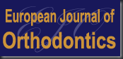 european journal of orthodontics