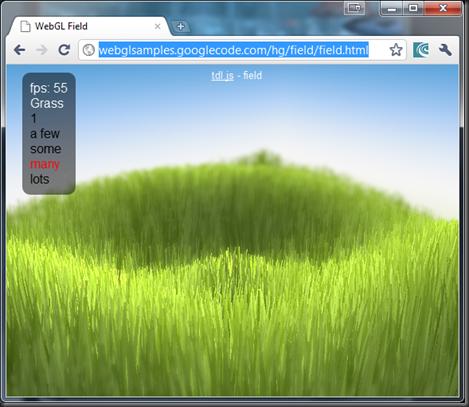 WebGL Grass