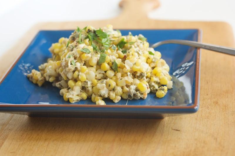 Cilantro Lime Corn | Naturally Ella