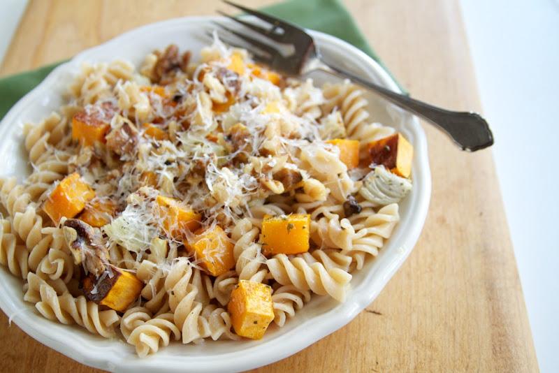 Butternut Squash, Parmesan, and Pasta | Naturally Ella