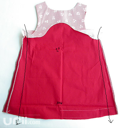طريقة خياطة فستان طفلة 4538827828