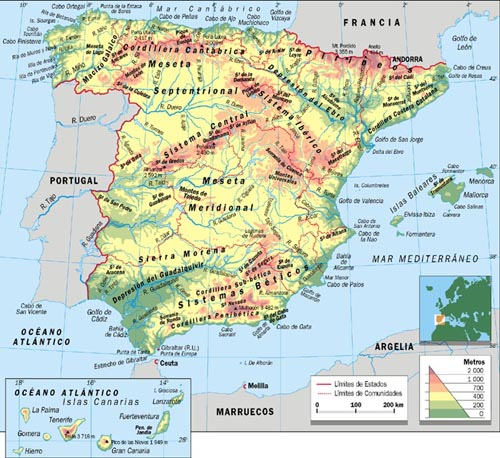 mapa de europa para colorear. COLOREAR Y APRENDER MAPAS