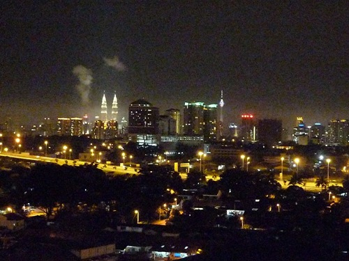 KL Skyline and Twin Towers