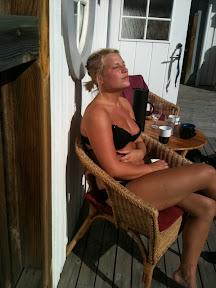 naken i solen