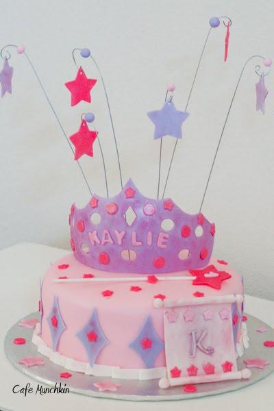 Cafe Munchkin 1st Birthday Princess Cake