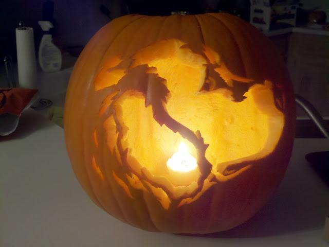 Gr pumpkin carving template page golden retrievers