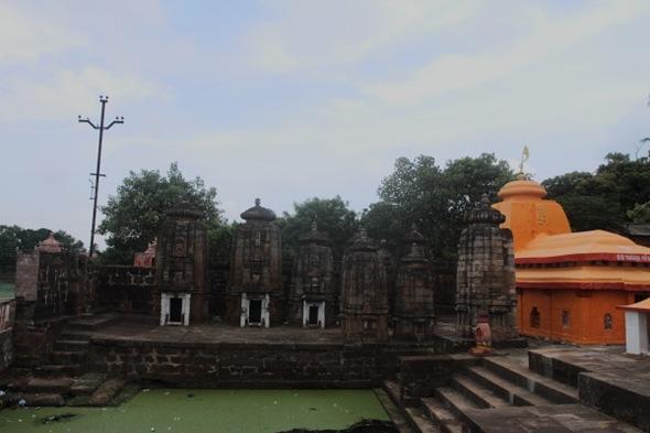 Temple near Bindu Sagar