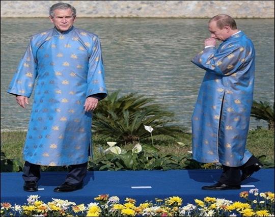 Ao-dai-Bush-Putin