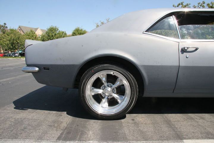 My 1968 Wheel Tire Combo Team Camaro Tech