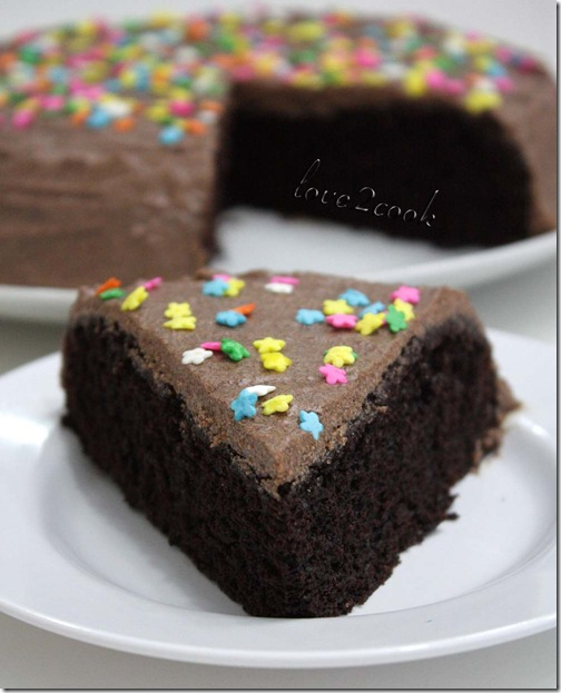 eggless  chocolate cake5