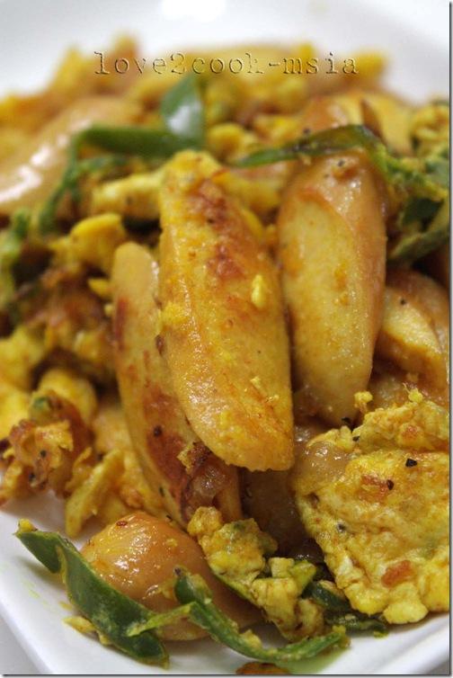 sausage & egg stir fry2