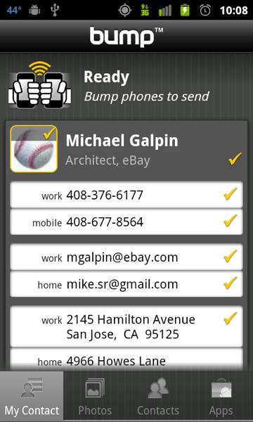 Bump likes tabs