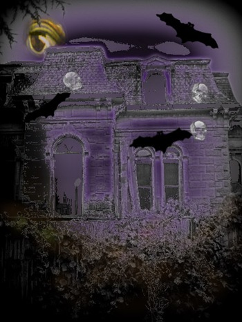 haunted house purple - Copy