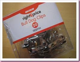 Bulldog clips