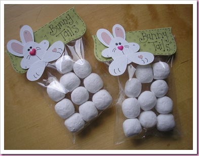 Bunny Tail Treat bags