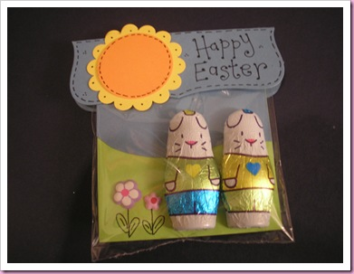 Easter Bunnies Treat bag