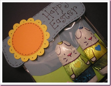 Close Up Easter Bunny Treat bag