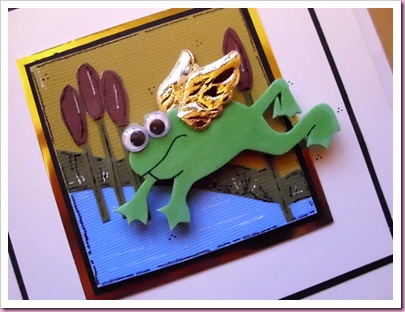 Flying Frog Card 1