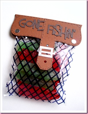 Gone Fishin treat Bag