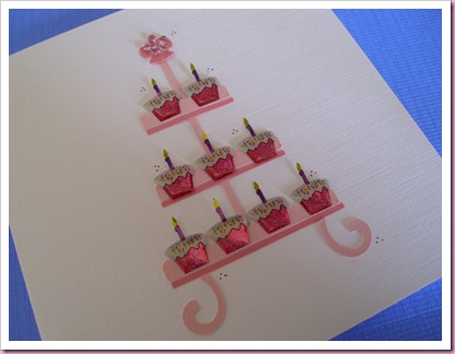 A Cake Stand Card