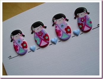 Geisha Girl Card