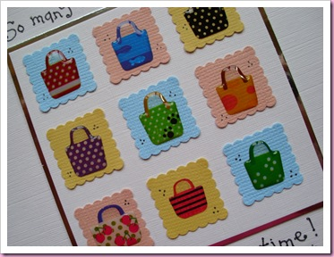 So many handbags Card 2