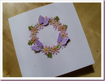 Butterfly Circle Card 1