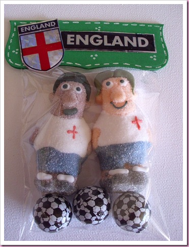 England World Cup Sweet favor Bags