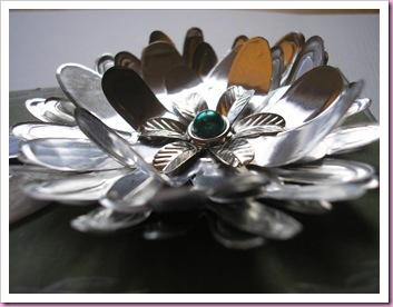 Closs Up of foil flower