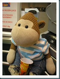 Monkey with Juice