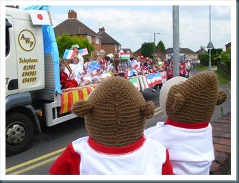 Codsall carnival float 1