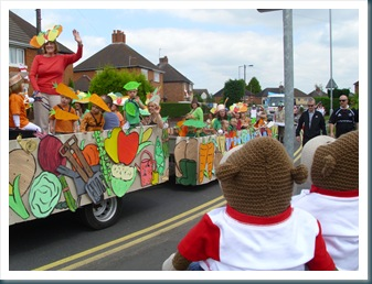 Cosdall carnival Float
