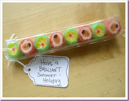 Have a Brilliant Summer Holiday favor