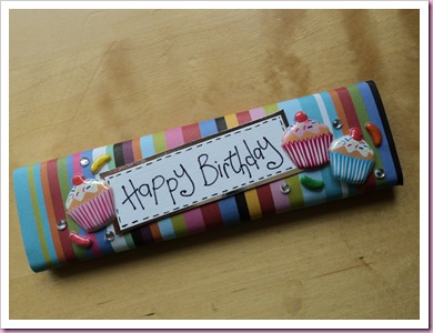 Birthday Chocolate bar (3)