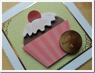 Papermania Cupcake Card