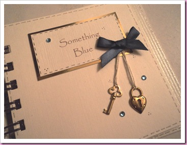 Something Blue - Wedding Book