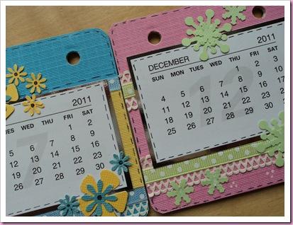 Desk Coaster Calendar