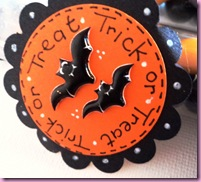 Trick or Treat Test Tube Favor Tags