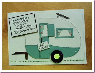 Caravan Wedding Card