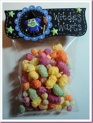 Witches Warts Halloween Favor Bag