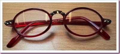 My embellished glasses
